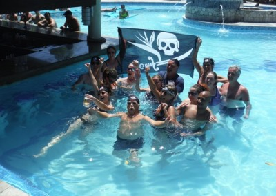 pirates in the pool